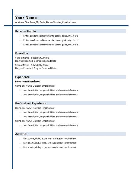 Graduate software engineer CV Example - Dayjob