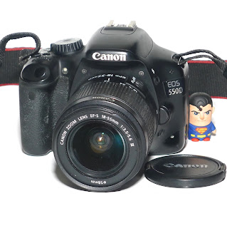 Kamera Canon EOS 550D Lens Kit IS 3 Second