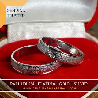 cincin nikah cople kawin pasangan muslim