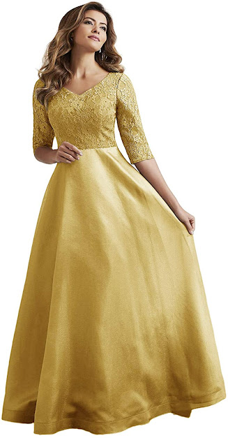 Best Gold Mother of The Bride Dresses