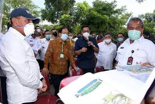 Menteri ATR Tinjau Lokasi Sport Centre Edy Rahmayadi Sebut Akan Jadikan Kota Baru di Deliserdang
