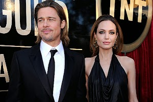 Angelina Jolie Brad Pitt will present at the 50th anniversary of the island in the shape of heart