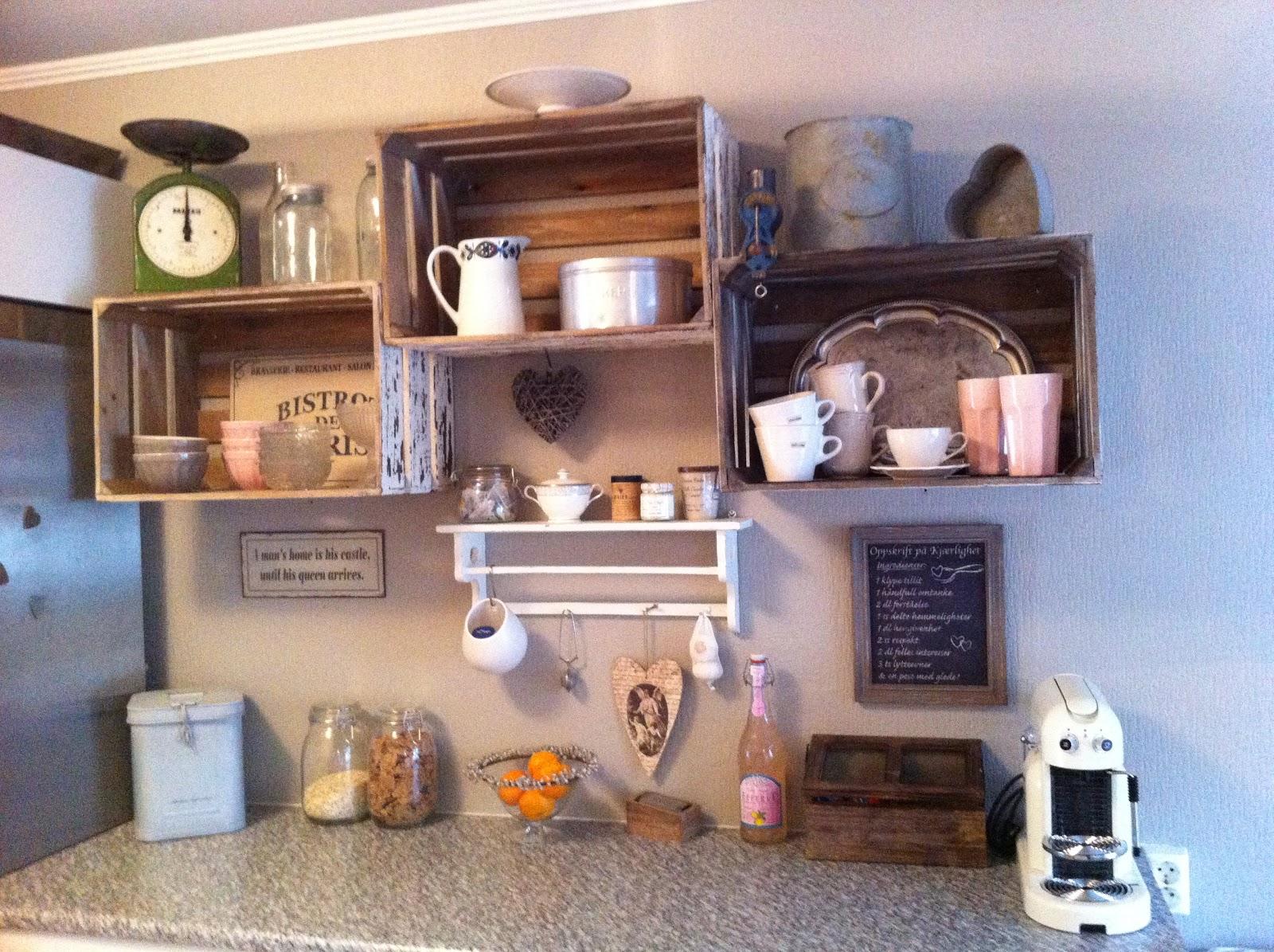 Helt nye Trudes interiørverden: Nye hyller på kjøkkenet SQ-29