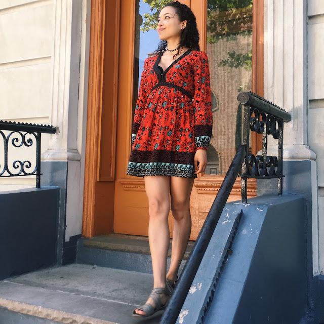 Kimono Style Summer Dress