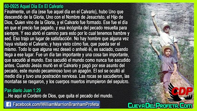 La verdad de aquel día en el Calvario - William Branham en Español