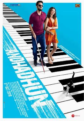 Andhadhun 2018 BluRay Hindi 480p 400MB MKV download here | MovieFly