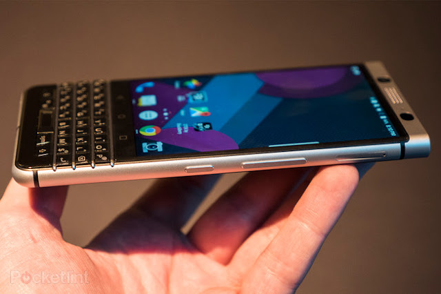 Blackberry Keyone, Fingerprint Handal Dengan Keyboard Qwerty