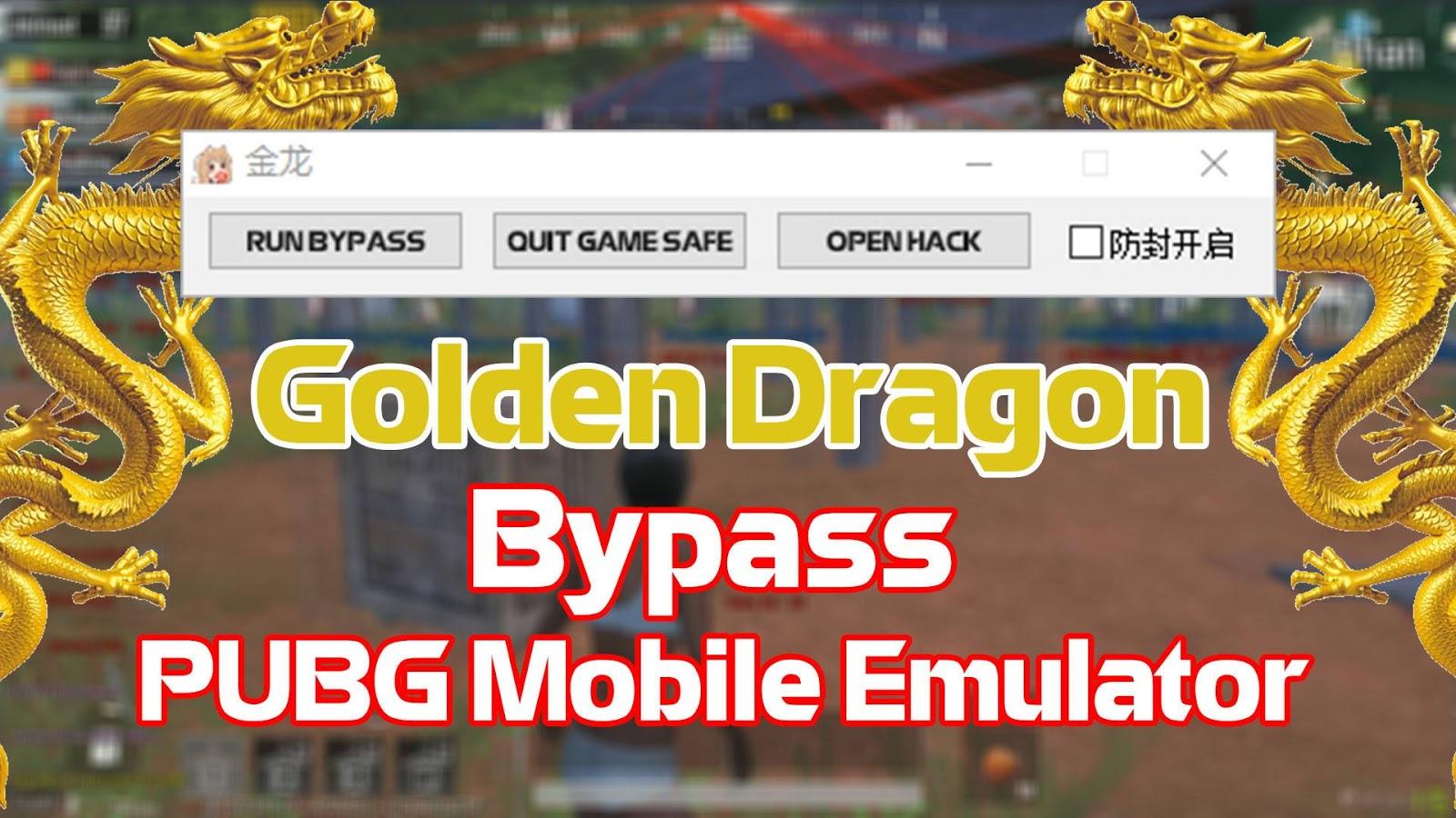 Bypass Golden dragon Fix Ban | VIP Pubg Mobile 0.16.5