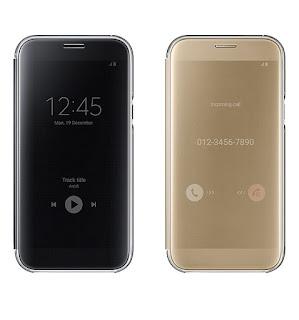 Bao da clear view Galaxy A7 2017 chính hãng Samsung