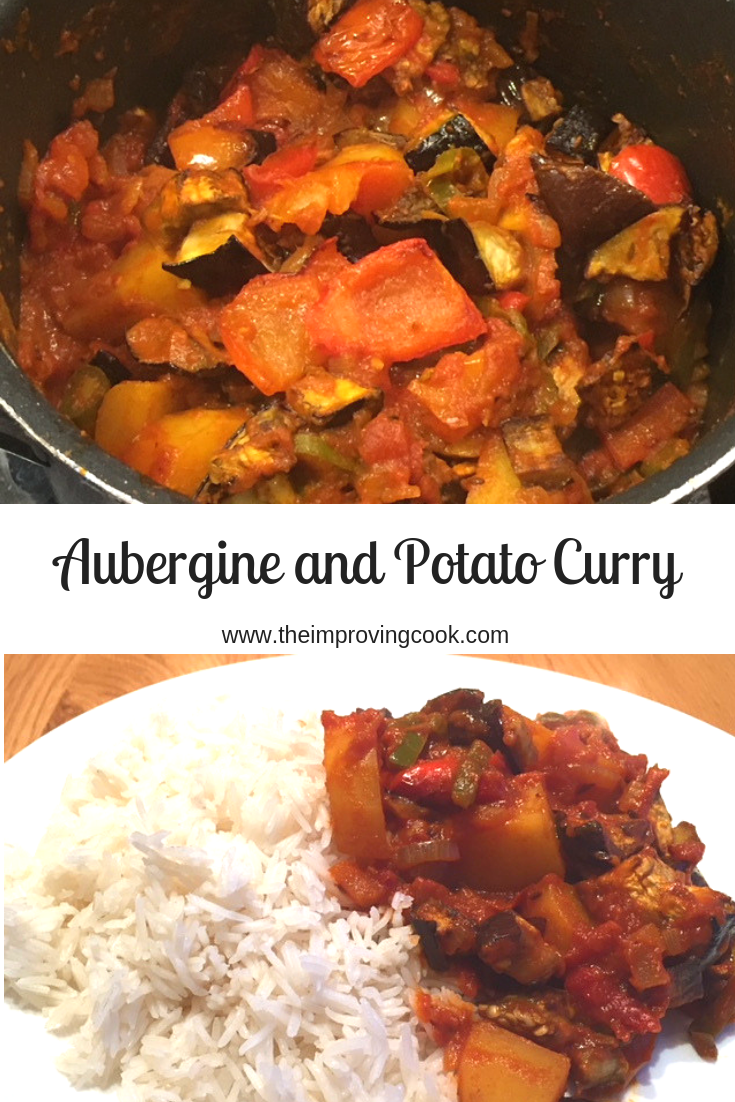 Aubergine And Potato Curry The Improving Cook