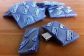Flashdisk unik bentuk bungkus kondom