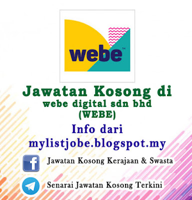 Jawatan Kosong di webe digital sdn bhd