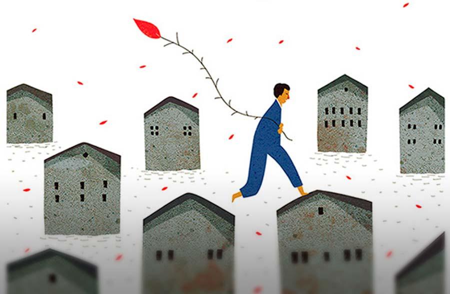 Ilustración de Roger Ycaza