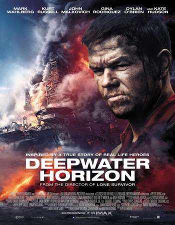 Poster Of Free Download Deepwater Horizon 2016 300MB Full Movie Hindi Dubbed 720P Bluray HD HEVC Small Size Pc Movie Only At worldfree4u.com