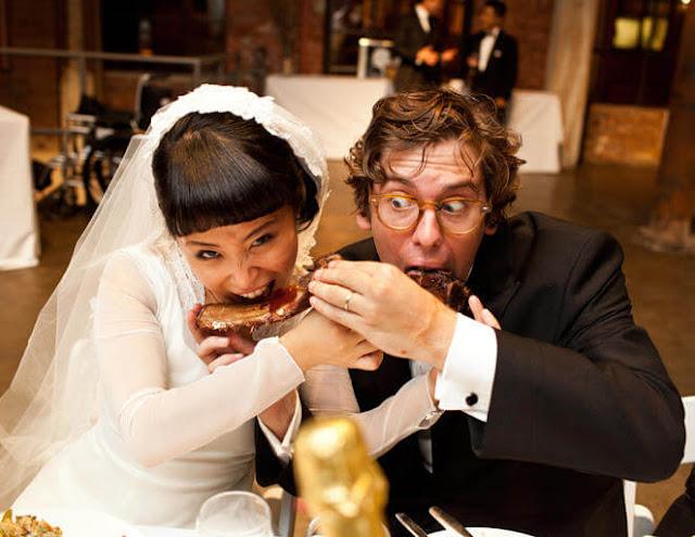 Fotos de noivos engraçadas e divertidas