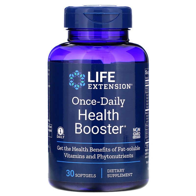 Life Extension, Once-Daily Health Booster, 30 Softgels