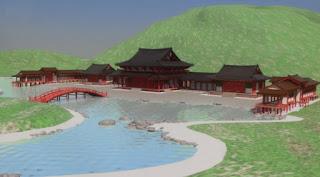 永福寺復元図