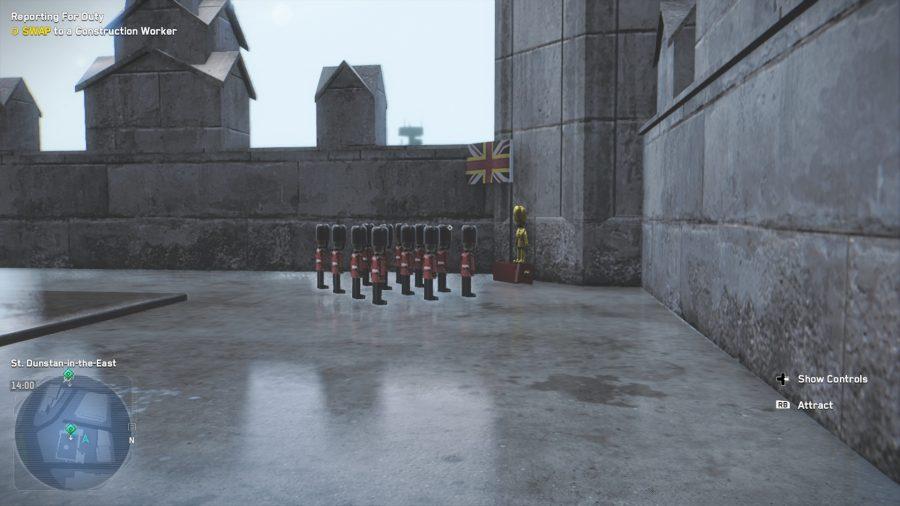 Miniature Royal Guard of Great Britain