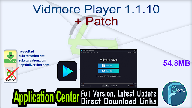 Vidmore Player 1.1.10 + Patch