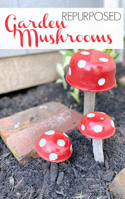 Pinterest pin for mushrooms
