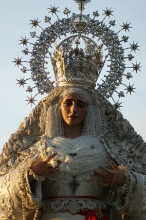 Horario e Itinerario Rosario de la Aurora de la Virgen de la Paz. Sevilla 21/10/2018