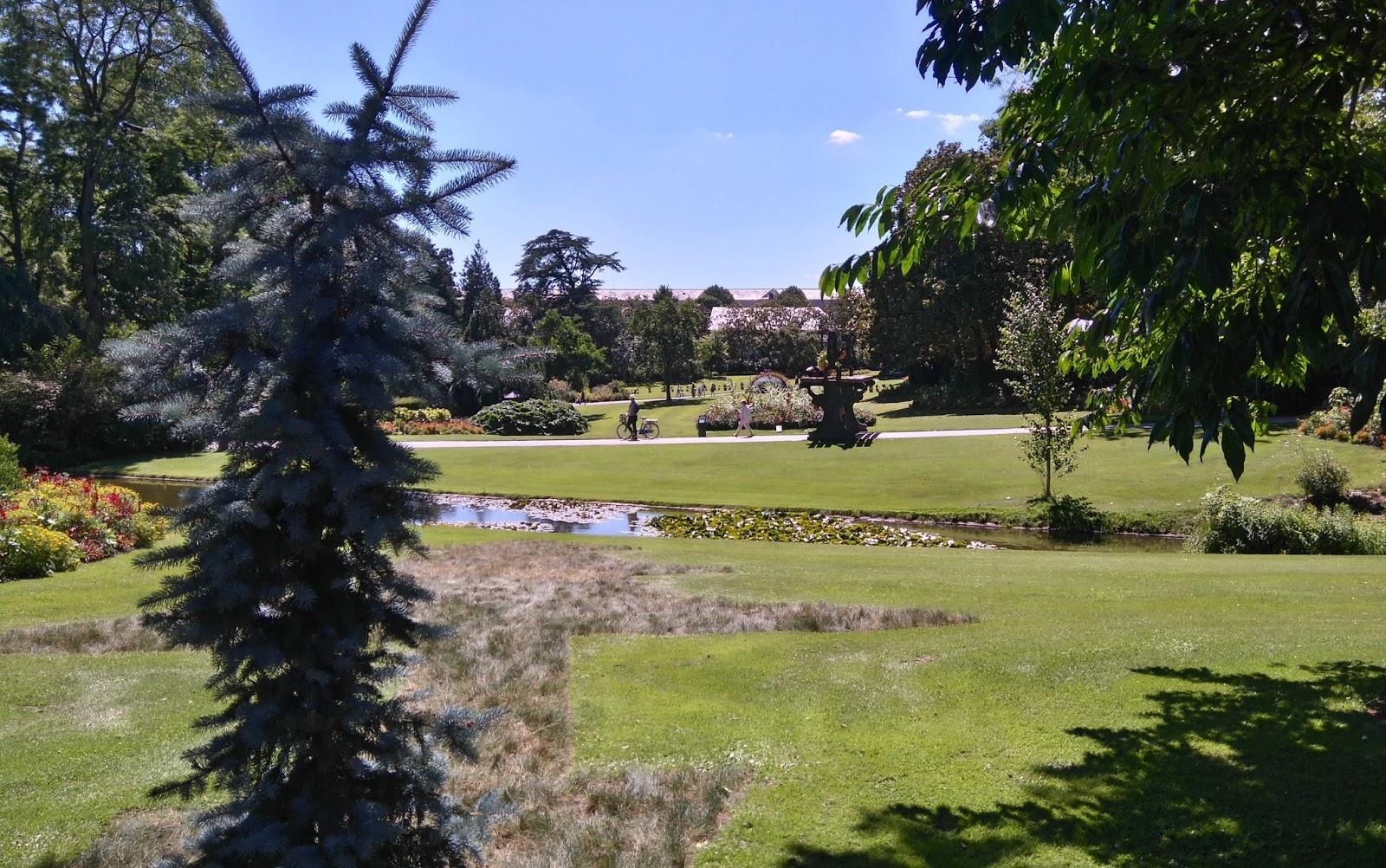 Le Jardin Des Plantes Nantes