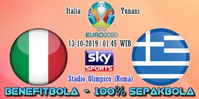 Prediksi Italia vs Yunani – 13 Oktober 2019
