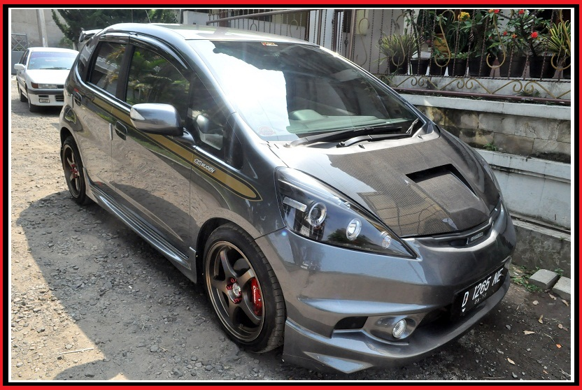 modifikasi honda jazz ceper