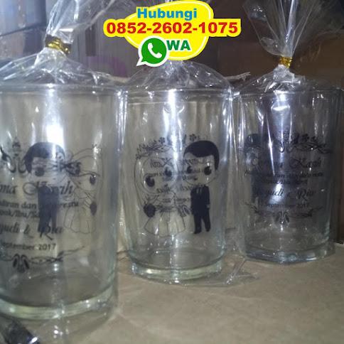 supplier gelas sablon grosir harga grosir 50144