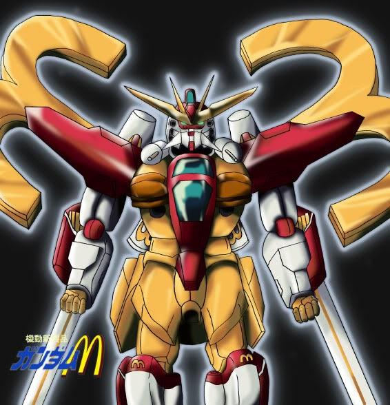 Gundam Double X McDonald