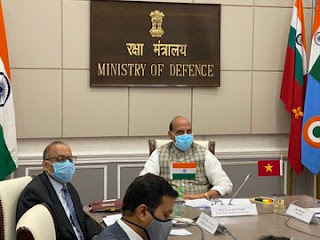 Defence Ministers meet of India and Vietnam