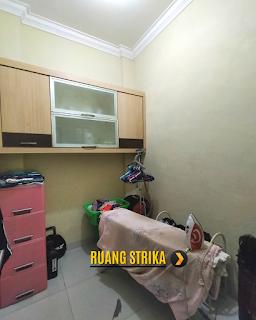 Kamar Strika Gudang Rumah 2 Lantai Semi Furnished 3 Kamar Tidur di Komplek Bumi Asri Jalan Asrama Pondok Kelapa Helvetia Medan