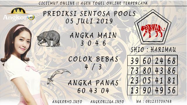 PREDIKSI SENTOSA POOLS 05 JULI 2019