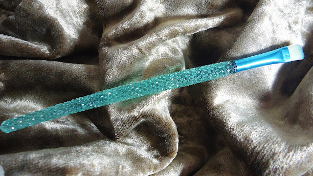 pincel belle angel azul cristal
