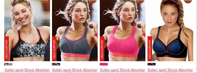 Alege sutienul sport si miscate in voie in timpul exercitiilor fizice