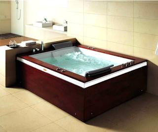Oversized Bathtub shower combo