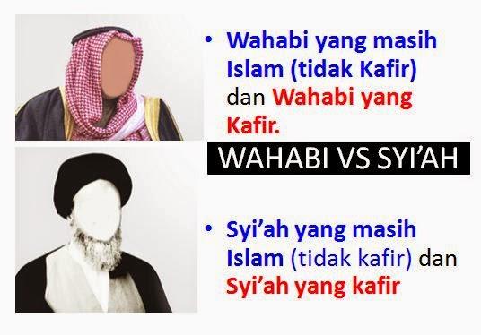 Syiah Rofidhoh dan Wahabi, Kotoran Unta yang dibelah Dua