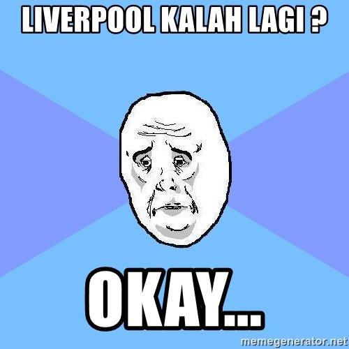 12 Meme Lucu 'Liverpool Kalah Lagi' Ini Bikin Pedih Fansnya