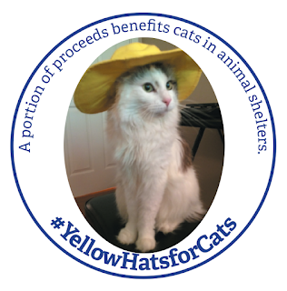 #YellowHatsforCats sticker