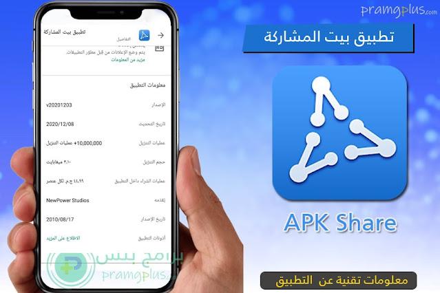 معلومات تنزيل تطبيق بيت المشاركة