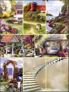 Photoshop Collage Background