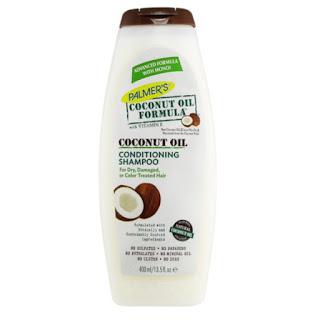 palmers coconut oil shampoo sulfate free 400ml