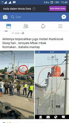 Heboh penampakan hantu usai kecelakaan kereta api di Cibitung