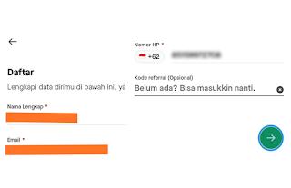 Cara Mendaftar Akun Gojek
