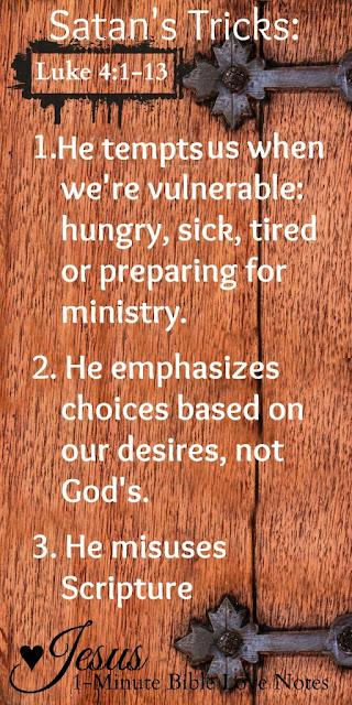 A Plan for Fighting Temptation,Temptation, Satan's temptations, Scripture defense