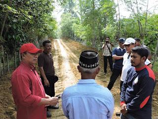 Gampong Blang Beururu Gunakan Dana Desa Untuk Akses Jalan