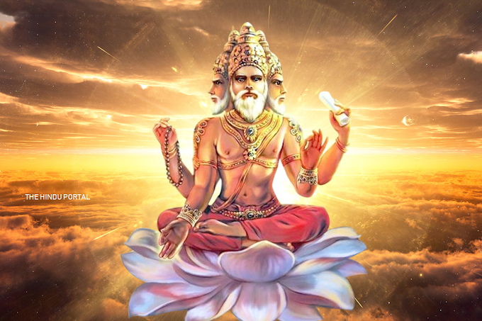 Lord Brahma - the God of Creater