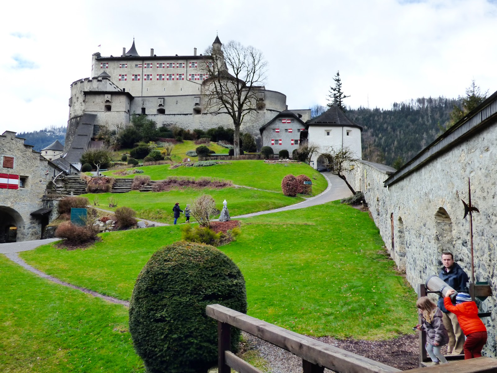 Hohenwerfen Castle Austria Paige Taylor Evans