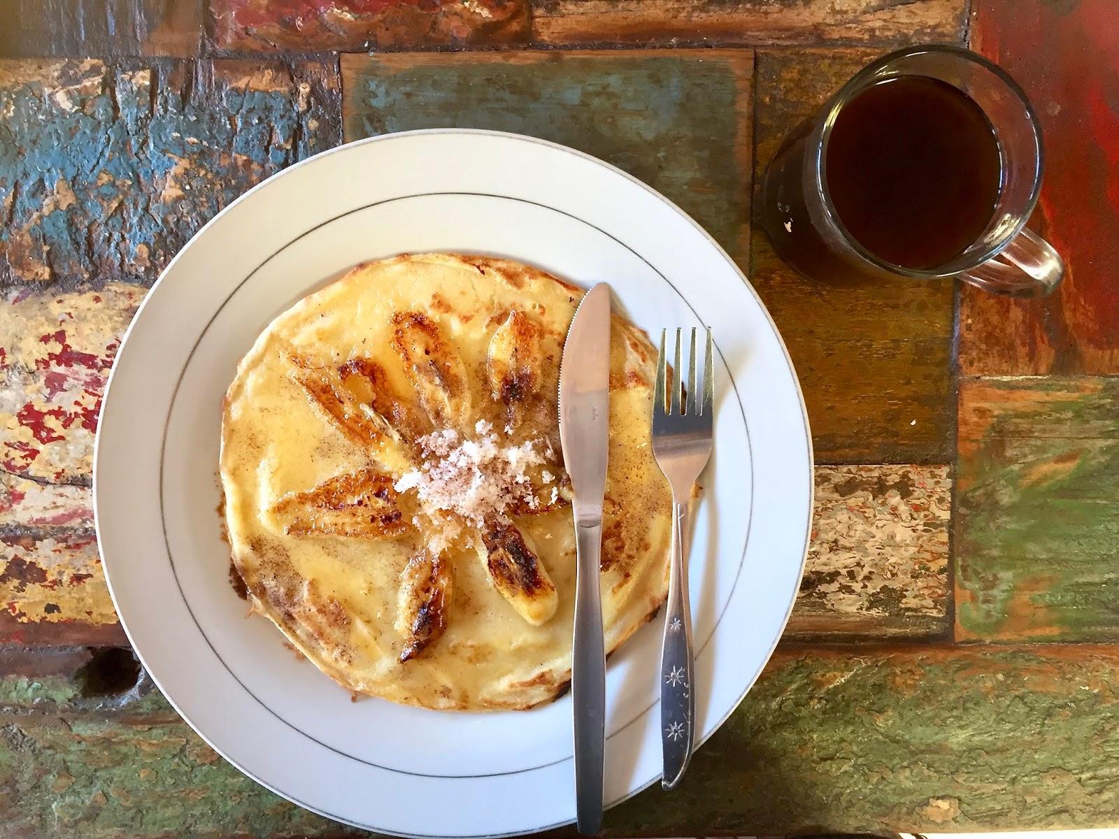 Banana pancake in Ubud