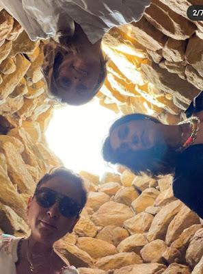 Tomba dei Giganti Caterina Balivo foto Sardegna 10 giugno